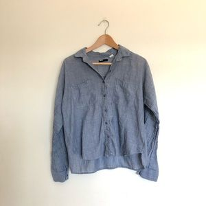 Urban Outfitters BDG Blue Button Down Shirt